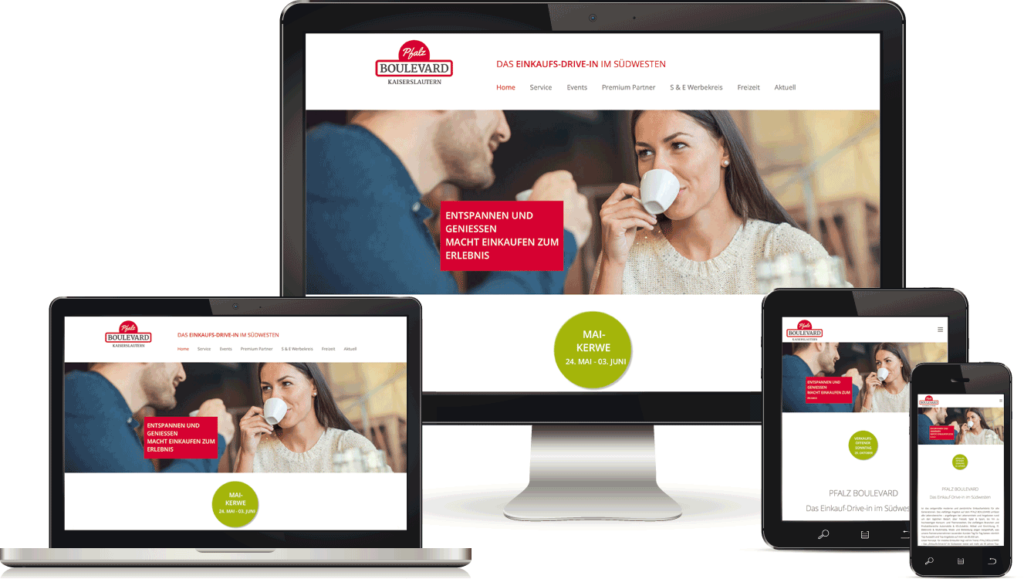 Webdesign in Kaiserslautern, BAQUE-Internetservice